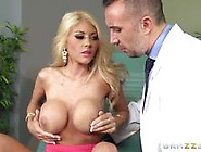 Busty Wife Kayla Kayden Fucks Doctor For Her Husband