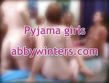 Abby Winters - Girl-Girl - Pyjama Girls 3