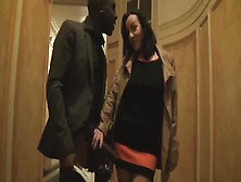 French Housewive Cheats With Black Man