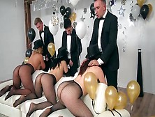 Party Ends With Whores Sucking And Fucking The Blokes