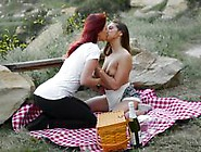 Lesbian Beauties Karlie Montana And Sara Luv