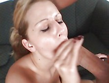 Sizzling Jane Darling Enjoys Slurping Down Hot Jizz