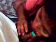 Sri Lankan Big Tit Curvy Gives A Blowjob