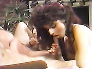 Naughty Brunette Ladies Sucks Hard Dicks With Desire