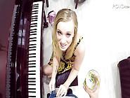 Fascinating Bailey Brooke Fucks Her Piano Teacher In Pov