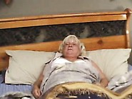 Lucky Blonde Granny Fuck Action
