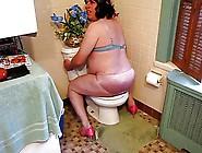 Sissy In Bra Ans Panties Talks Dirty And Cums