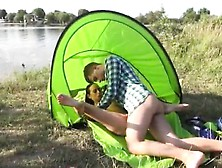 Wendy Knight Blowjob Eveline Getting Porked On Camping Site