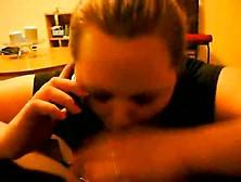 Girlfriend Had A Phone Call With Her Boyfriend Whi