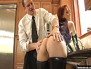 Nikki Hunter Is An Older Milf With A Curvy Body, Long Red