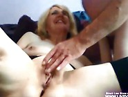 Amateur Sexy Milf Kas Fucks Mature Guy