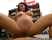 Amazing Brunette Mya Nicole Having Sexy Fun In The Library
