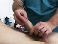 Doctor Retracts Foreskin Gay Tube And Mature Doctor Boy With