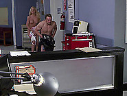 Lovely Nurse In Uniform Gets Fucked Hardcore While On Duty