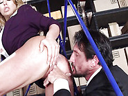 Sexy Secretary Corinna Blake Gets Round A Cops Rough Penis With