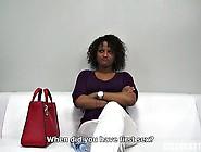 Black Euro Girl Casting Fuck Scene