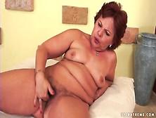 Mature Masturbates Her Hairy Pussy Solo