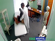 Fakehospital Doctor Seduces Young Wife While Giving Her Examinat