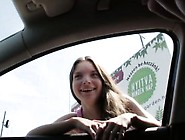 Cute Teen Anita Gets A Ride And Fucked