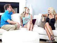 Stepmom Threesome With Helly Mae Hellfire And Vallerie White