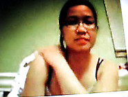 Young And Chubby Asian Webcam Hottie In Glasses Flirts With Me