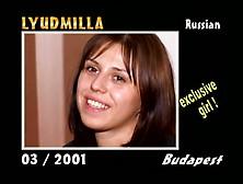 Private Castings 34 -Pierre Woodman- Lyudmila