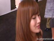 Nasty Asian Teen Kokone Mizutani Pleases Horny Males