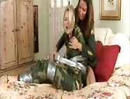 Military Girl Is Duct Taped And Gagged On The Bed By Lady Girl