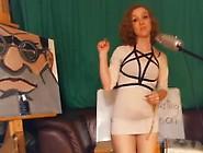 Sexy Redhead Milf In Tight Mini Dress Twerks Her Big Juicy Ass U