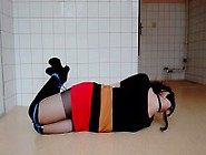 Teen Hogtied And Gagged