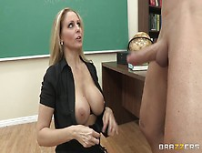 Uncouth And Wild Classroom Sex With Big Tits Blonde