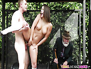 Abella Danger And Bill Bailey Fuck In Front Of Old Man