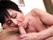 Busty Granny Creampied