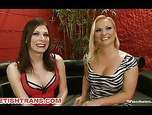 New Transsexual Domina Pussy Slave Humiliates