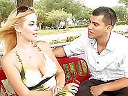 Titanic Tits On Blond Milf Kylie Knight