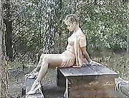 Swedish Erotic Bondage In The Forest
