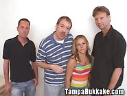 Teen Double Creampie Mini Bukkake - Movies