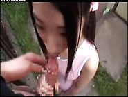 Outdoor Sucking Japanese Girl