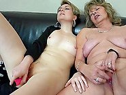 Sexy Older Lesbian Lady And Her Teen Girlfriend Toy Fucking Expe