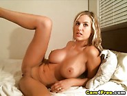 Ania Gets Her Pussy Creampied And Stuff With Jizz