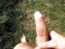 Playing Outdoors In Field - Xtube Fan Request 2015