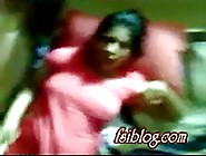 Desi Sexy Girl In Red Salwar Leaked Mms