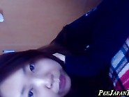 Japanese Babe Is Often Peeing In The Bath Tub And Making A Video