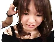 Sweet Japanese Teen With A Cute Smile Gets Her Mouth Filled