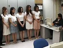 Sexy Japanese Office Babes Are Often Having Sex Adventures With