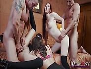 Naughty Trio Of Sluts Suck And Fuck Hard Cocks