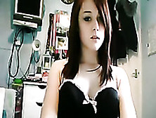 Delicious Redhead Teen In Her Bedroom Chats With Me On Webcam