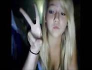 Sweet Blonde Teenie On Webcam
