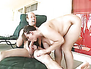 Takes His Old Thick Cock Deep Throat And Swallows His Cum