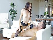 Beautiful Babe Megan Sage Getting Her Pussy Licked And Fucked In